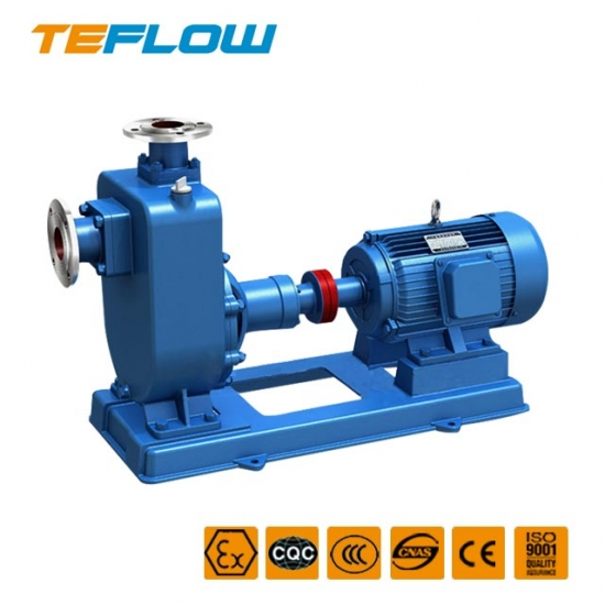 ZX stainless steel corrosion resistant self-priming pump