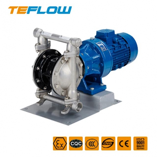 Corrosion-resistant electric diaphragm pump