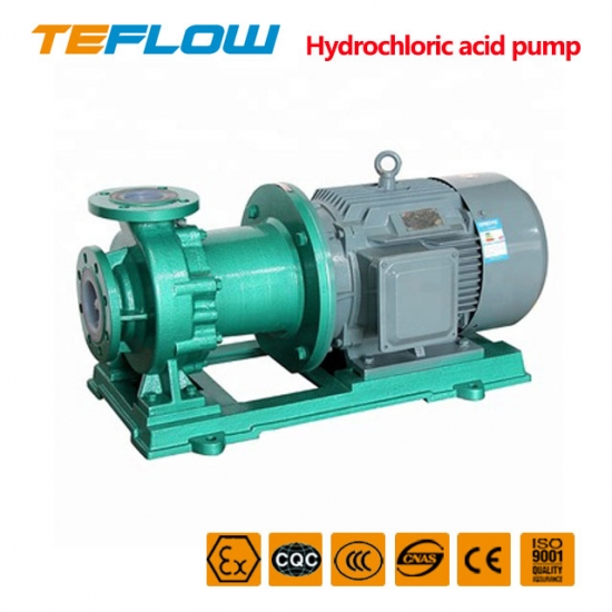 Hydrochloric acid magnetic pump