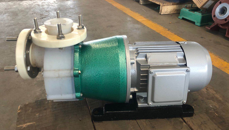 CQB-F full plastic special magnetic pump for high temperature resistant acid and alkali.