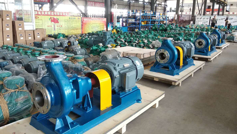 Four large 304 stainless steel centrifugal pumps to Vietnam