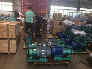 Tenglong pump Valves more than 100 sets of Fluorine-lined Magnetic pumps, Fluorine-lined centrifugal pumps shipped to Qinghai