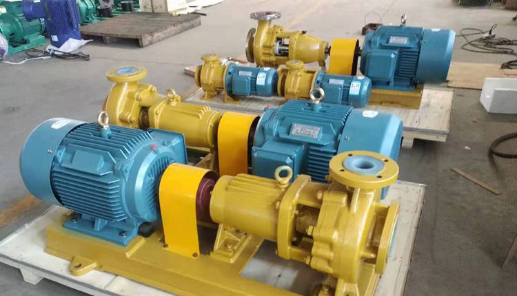 Single stage salt water centrifugal pump produced by TEFLOW